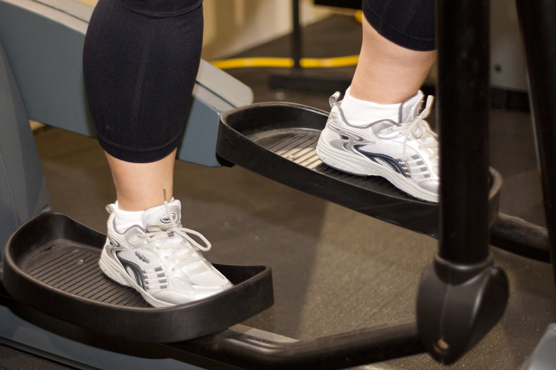 The elliptical trainer is a good form of aerobic exercise