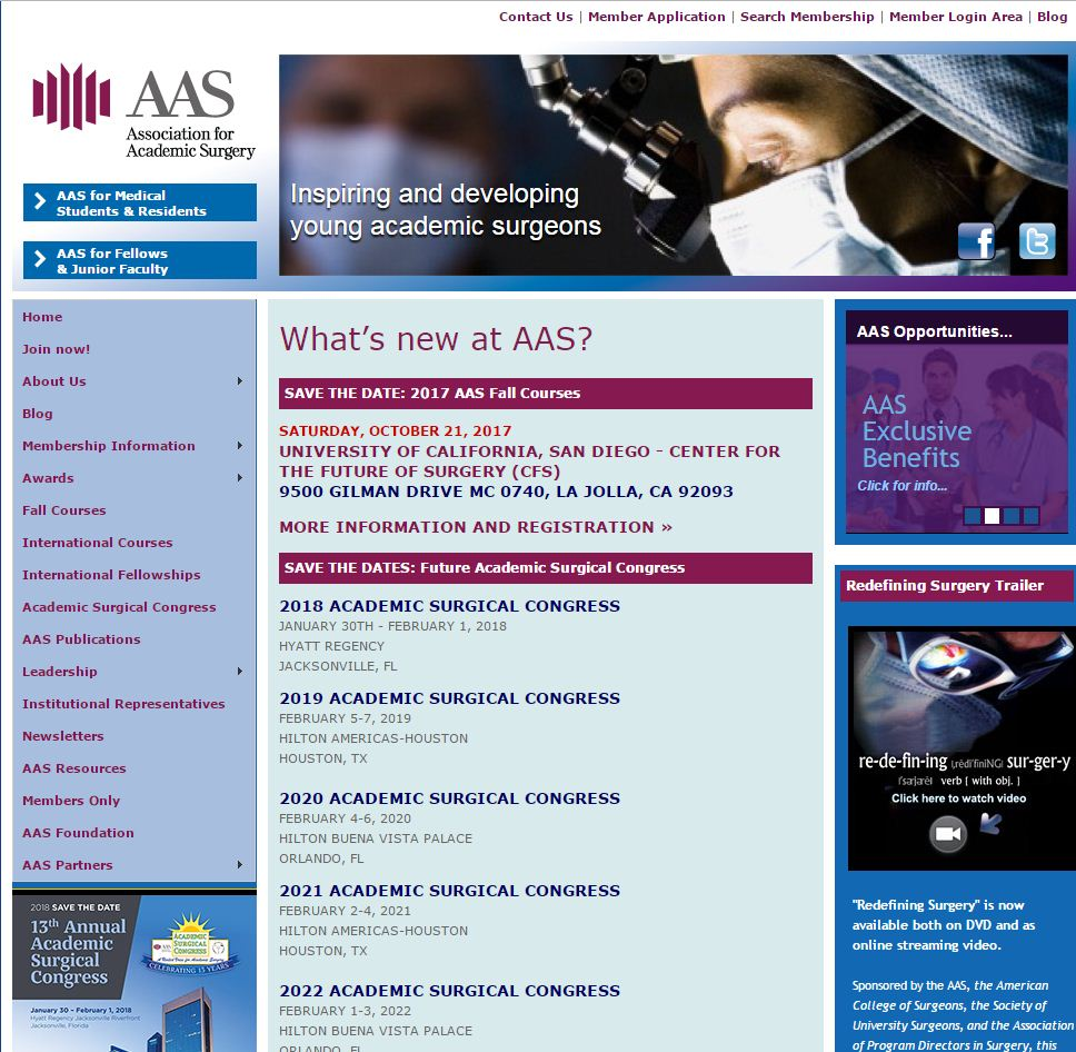 Association for Academic Surgery