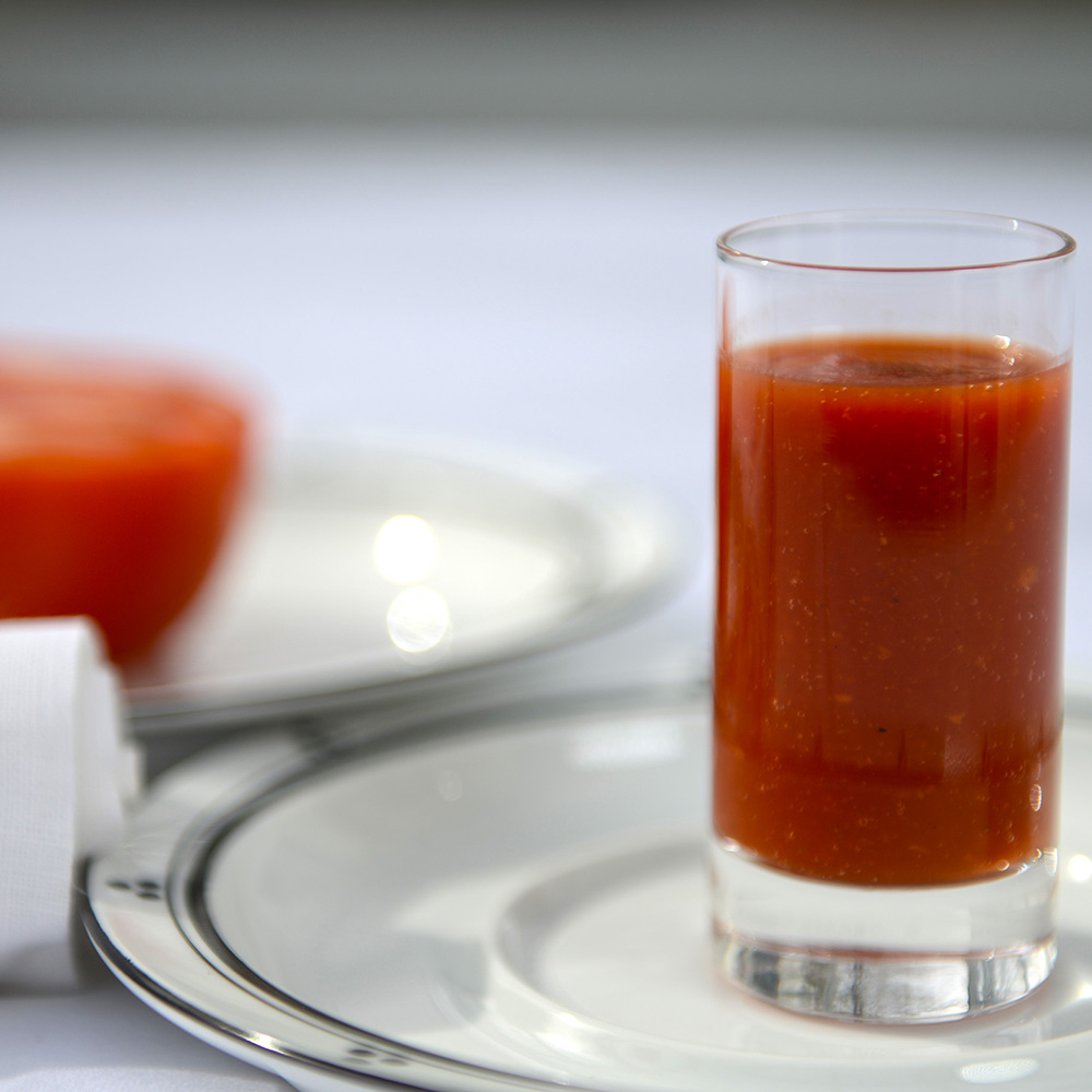 Tomato Juice may irritate the esophagus