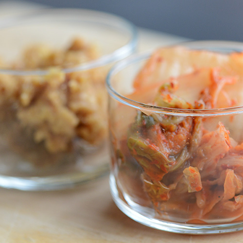 Kimchee and Miso as Fermented Foods for Microbiome