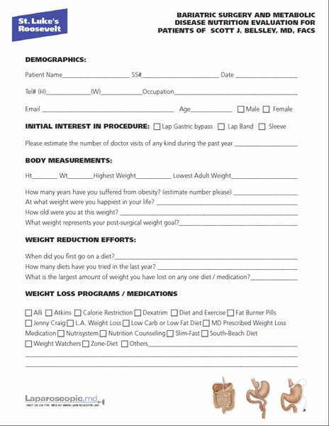 occupant emergency plan template - weight loss questionnaire template weight loss